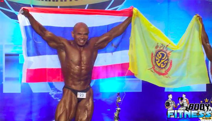 ผลา มีชัย นักเพาะกายระดับโลกดีกรี Champion Performance