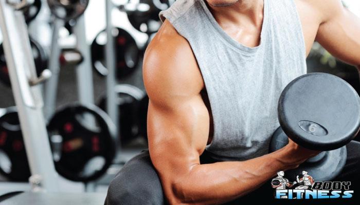 สร้างกล้ามเนื้อ การออกกำลังกายแขน